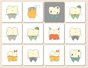Leeming dental memory game