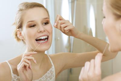 Leeming dental Teeth floss
